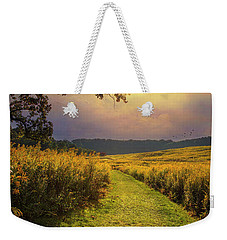 A Walk In Solitude Weekender Tote Bag