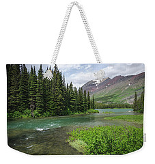 Weekender Tote Bag featuring the photograph A Walk In The Forest by Margaret Pitcher