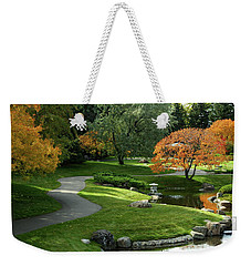 A Walk In The Garden Weekender Tote Bag