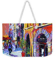 A Walk In The Lyon Old Town Weekender Tote Bag