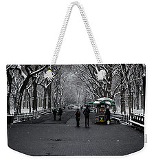 Weekender Tote Bag featuring the photograph A Walk In The Park by Anthony Fields