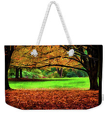 A Walk In The Park Weekender Tote Bag by Jordan Blackstone