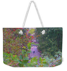 A Walk In The Park Weekender Tote Bag by Methune Hively