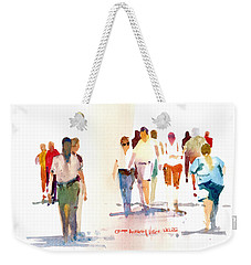A Walk In The Park Weekender Tote Bag by P Anthony Visco
