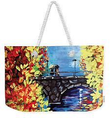 Paris In The Fall Weekender Tote Bag