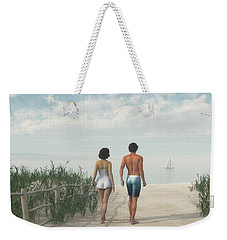 A Walk In The Sand Dunes Weekender Tote Bag