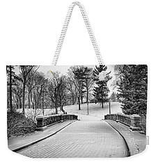 A Walk In The Snow Weekender Tote Bag