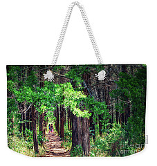 A Walk Into The Forest Weekender Tote Bag by Tamyra Ayles