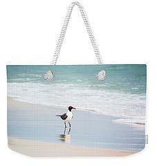 A Walk On The Beach Weekender Tote Bag by Shelby  Young