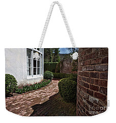 A Walk Through The Greenbrier Weekender Tote Bag by Laurinda Bowling