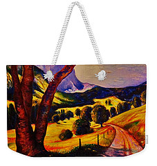 A Walk Through The Mountains Weekender Tote Bag by Emery Franklin