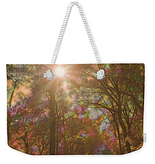 A Walk Through The Rainbow Forest Weekender Tote Bag