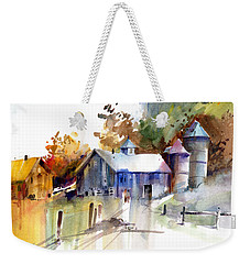 A Walk To The Barn Weekender Tote Bag by P Anthony Visco