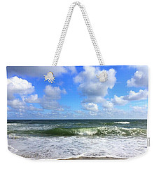 A Wave To Ride Weekender Tote Bag