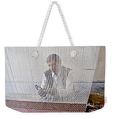 A Weaver Weaves A Carpet. Weekender Tote Bag