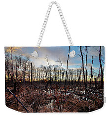 A Wet Decay Weekender Tote Bag by Ryan Crouse