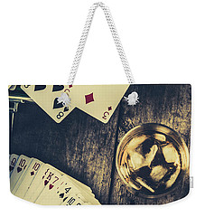A Whisky Bet Weekender Tote Bag