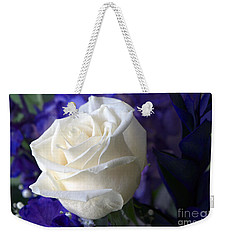 A White Rose Weekender Tote Bag