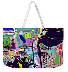 A Whole In The Wall - Better Than A Whole In The Head Weekender Tote Bag