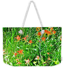 A Wild Summer Weekender Tote Bag by Marilyn Diaz