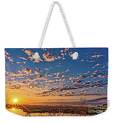 A Wildlife Paradise Marvel Sunrise Weekender Tote Bag