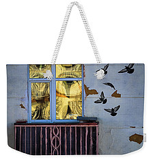 A Window Weekender Tote Bag