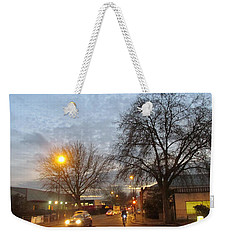 A Winter Evening  In 2015 At Park Royal - Northwest London Weekender Tote Bag