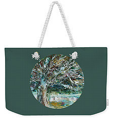A Winter Tree Weekender Tote Bag by Mary Wolf