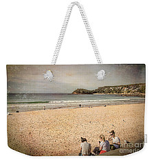 Weekender Tote Bag featuring the photograph A Winter's Day In Manly by Elaine Teague
