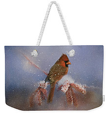 A Winters Day Weekender Tote Bag by Lana Trussell
