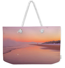 Weekender Tote Bag featuring the photograph A Winters Morning by Roy McPeak