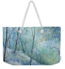 A Winter's Walk Weekender Tote Bag