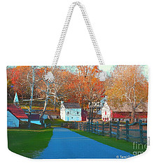 A World With Octobers Weekender Tote Bag