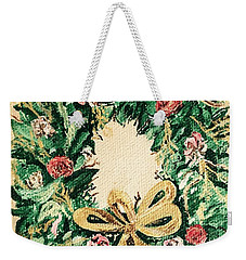 A Wreath  Weekender Tote Bag