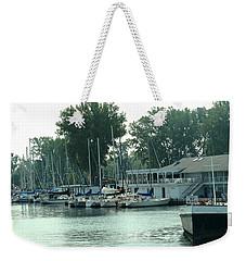 A Yacht Club Weekender Tote Bag by Ian  MacDonald
