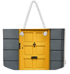 A Yellow Door In Ireland Weekender Tote Bag
