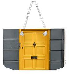 A Yellow Door In Ireland Weekender Tote Bag