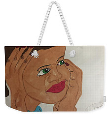 A Young Woman  Weekender Tote Bag