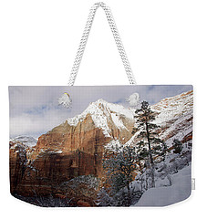 A Zion View Along The Trail Weekender Tote Bag