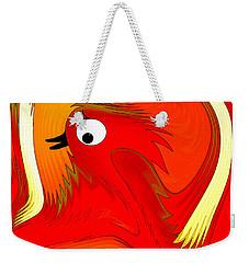 A Zizzer Bird Weekender Tote Bag