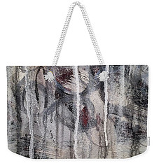 Weekender Tote Bag featuring the painting A1 by Lance Headlee