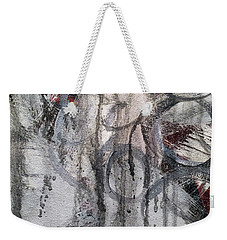 Weekender Tote Bag featuring the painting A10 by Lance Headlee