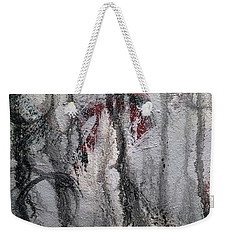 Weekender Tote Bag featuring the painting A2 by Lance Headlee