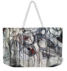 Weekender Tote Bag featuring the painting A3 by Lance Headlee