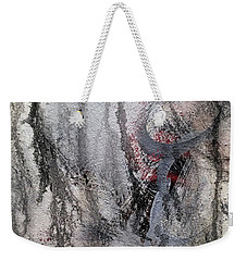 Weekender Tote Bag featuring the painting A5 by Lance Headlee