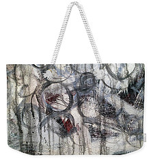 Weekender Tote Bag featuring the painting A6 by Lance Headlee