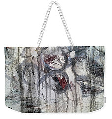 Weekender Tote Bag featuring the painting A7 by Lance Headlee