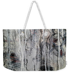 Weekender Tote Bag featuring the painting A8 by Lance Headlee