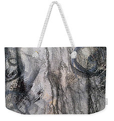 Weekender Tote Bag featuring the painting A9 by Lance Headlee
