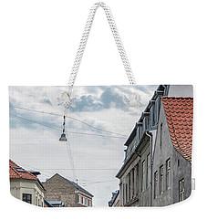 Weekender Tote Bag featuring the photograph Aarhus Urban Scene by Antony McAulay
